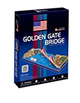 Cubic Fun C078h Golden Gate Bridge 3D Puzzle