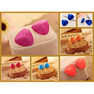 Varishta Jewells Titli - Set of 6 pairs of trendy studs for the fashion girl in you