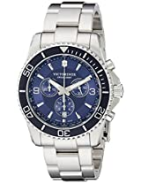 Victorinox Men's 241689 Maverick Stainless Steel Bracelet Watch