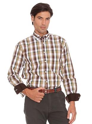 PEDRO DEL HIERRO Camisa Bolsillo (Multicolor)