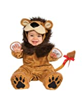 Rubie's Costume Cuddly Jungle Lil Lion Romper Costume