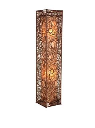 Jeffan Cascade Standing Lamp, Brown