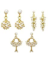 Pearlscart copper & pearl Jhumki Earring for Women
