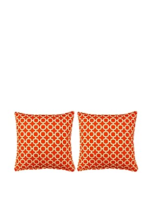 Set of 2 Hockley Pillows (Mandarin)