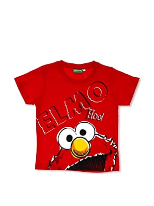 Licencias Camiseta Barrio Sésamo (Rojo)