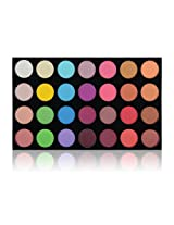 SHANY The Masterpiece 28 Colors Ultra Shimmer Eyeshadow Palette/Refill, Party Hopper