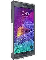 Otterbox Commuter Series Glacier Case Samsung Galaxy Note 4 - White/Gunmetal Grey