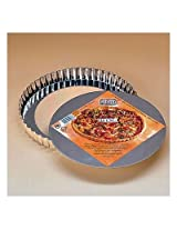 Kaiser Bakeware Basic Tinplate 9-1/2 Inch Round Quiche Pan with Removable Bottom