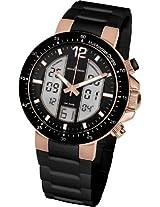 Jacques Lemans Chronograph Black Dial Men's Watch - 1-1726D