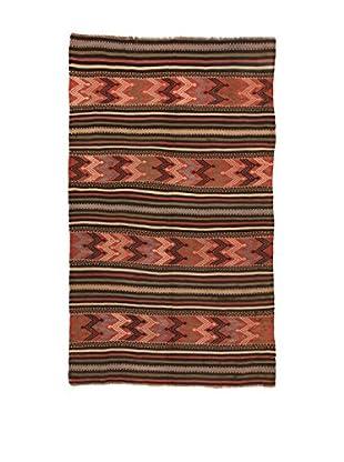 Design Community By Loomier Teppich Kilim Caucasico mehrfarbig 140 x 230 cm
