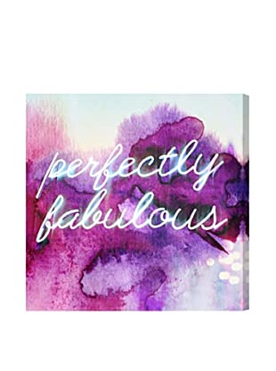 Oliver Gal Perfectly Fabulous Canvas Art