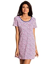 PrettySecrets Women's Cotton Nightdress and Nightshirt