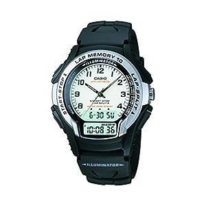 Casio Youth Analog-digital White Dial Men's Watch - WS-300-7BVSDF (AD141)