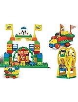 Sluban M38-B6012 Lego Amusement Park Educational Toy, Multi Colour