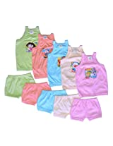 Cool Baby Sleeveless Top and Matching Shorts Set of 5