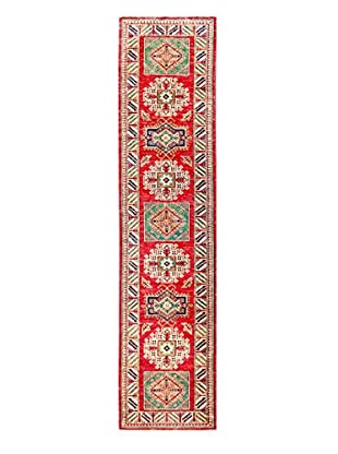 Bashian Rugs One-of-a-Kind Hand Knotted Kazak Rug, Red, 2' 8