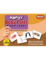 Krazy Body Parts - Flash Cards