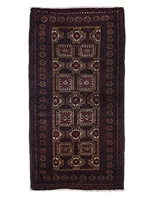Darya Rugs Persian One-of-a-Kind Rug, Red, 3' 4