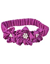 ISM HB25 Petal Flower Hairband-Fuschia