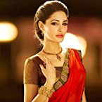 Nargis Fakhri Red Bollywood Replica Saree