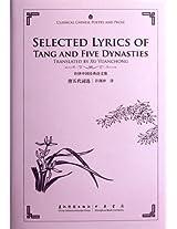 Selected Lyrics of Tang and Five Dynasties