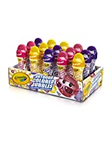 Crayola 15-Count 4-Ounce Colored Bubble Tray