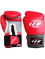 LEW Pro Style Training Gloves (Red)