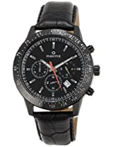 Maxima Chronograph Black Dial Men's Watch - 25953LMGB
