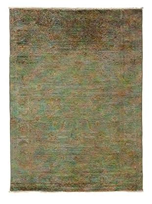 Darya Rugs Transitional Oriental Rug, Silver, 6' 8