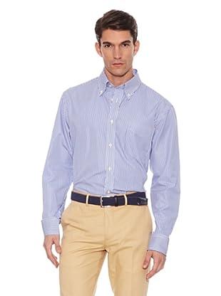 Hackett Camisa Rayas Azul 44