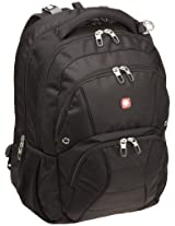 SwissGear SA1908 Black TSA Friendly ScanSmart Laptop Computer Backpack - Fits Most 17 Inch Laptops and Tablets (1908215)
