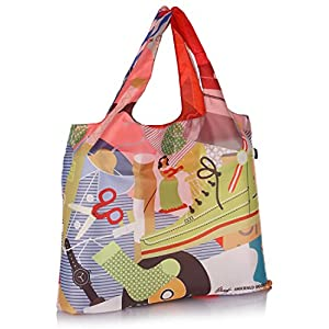 Michael Arnold Everything Multicolored Shopping Bag