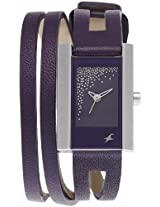 Fastrack Midnight party Analog Black Dial Women's Watch - 6081SL02