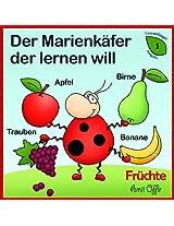 Wörterbuch Für Kinder: Früchte (lesen lernen 1) (German Edition)