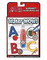 Melissa and Doug Water Wow Activity Book, Alphabet