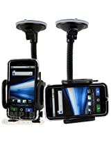 Motorola Atrix 4G At&t Car Windshield Dash Mount Cradle Holder Kit MB860 Android