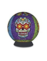 3D Puzzle Sphere - Day of the Dead