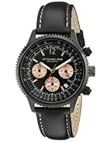 Stuhrling Original Analog Black Dial Men's Watch - 669.05