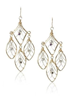 Misha Cubic Zirconia Dreamcatcher Earrings