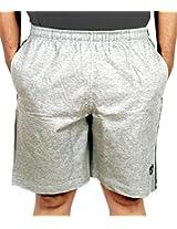 Scorpion Mens Cotton Shorts -Grey Melange -X-Large