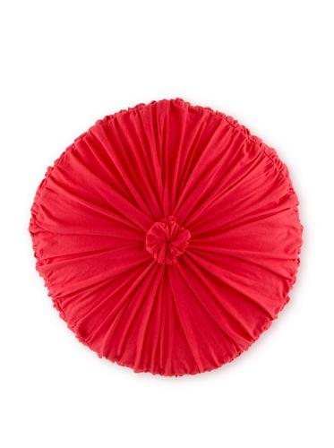 lazybones Rosette Cushion (Cherry)