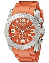Swiss Legend Men's 10067-06 Commander Analog Display Swiss Quartz Orange Watch