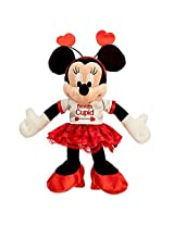 Disney Minnie Mouse Im With Cupid Plush Valentines Day Small 9