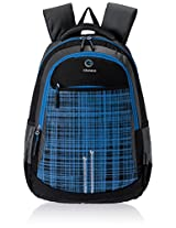 "Genius Nylon Children's Backpack (GN 1516 - 17""-BLUE)"