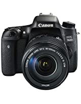 Canon EOS 760D 24.2MP Digital SLR Camera (Black) with 18-135 STM Lens, Memory card, Camera Bag