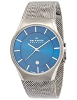 Skagen Analog Blue Dial Men's Watch - 956XLTTN