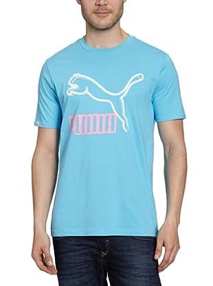 Puma T-Shirt Vintage No.1 Logo (aquarius)