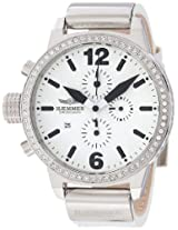 Haemmer Chronograph White Dial Women's watch-I DHC-04