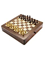 Chess Board/Set - 2 in 1 Chess Board - CNC-CB-1 - By CHESSNCRAFTS