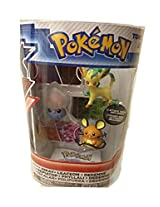 Pokemon Figures 3 Pack Series 2 Glaceon Gengar Spritzee